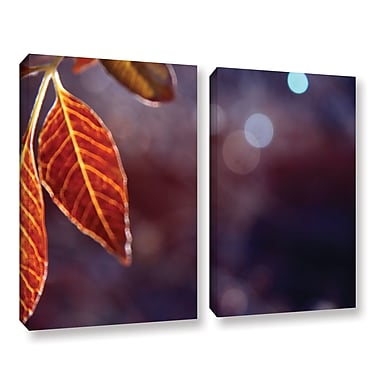 ArtWall Fall Lights by Mark Ross 2 Piece Photographic Print on Wrapped Canvas Set