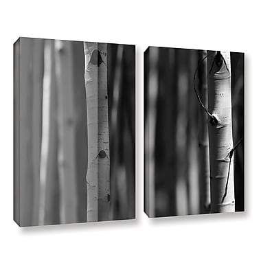 ArtWall A Way Out by Mark Ross 2 Piece Photographic Print on Wrapped Canvas Set