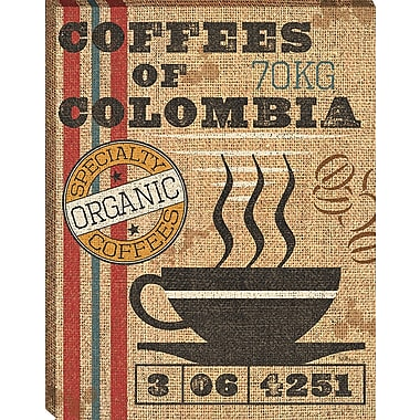 Tangletown Fine Art Coffee Sack I by Pela Studio Framed Vintage Advertisement on Wrapped Canvas