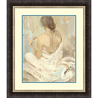 Tangletown Fine Art Abstract Figure Study II by Albena Hristova Framed Painting Print