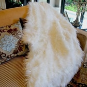 Tache Home Fashion Lion Pile Faux Fur Throw Blanket