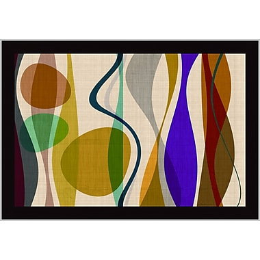 Tangletown Fine Art Positive Energy 2 by Barry Osbourn Framed Graphic Art
