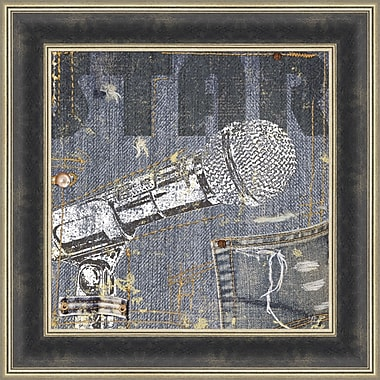Tangletown Fine Art Rock Concert IV by NBL Studio Framed Graphic Art