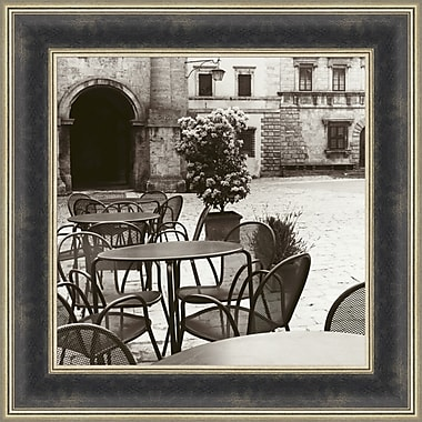 Tangletown Fine Art Cafe Toscana by Alan Blaustein Framed Photographic Print