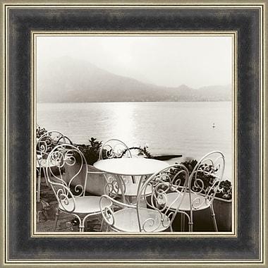 Tangletown Fine Art Cafe Varenna by Alan Blaustein Framed Photographic Print