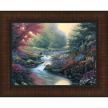 Tangletown Fine Art Secret Creek by Derk Hansen Framed Painting Print