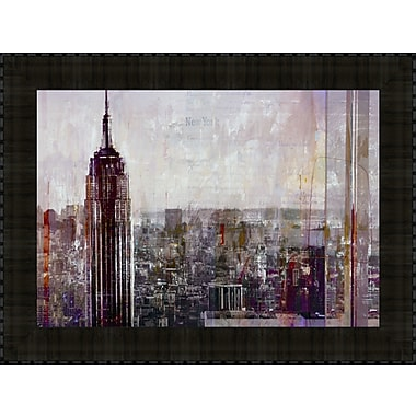 Tangletown Fine Art Shades of New York by Markus Haub Framed Painting Print