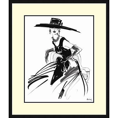 Tangletown Fine Art Anabel by Mona Shafer Edwards Framed Painting Print