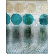 Tangletown Fine Art Blue Moon II by Heather McAlpine Framed Painting Print on Wrapped Canvas