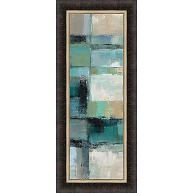 Tangletown Fine Art Island Hues Panel I by Silvia Vassileva Framed Painting Print