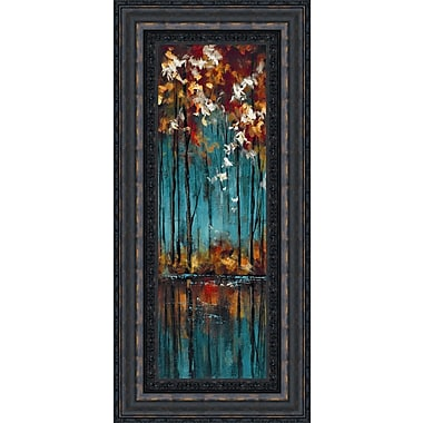 Tangletown Fine Art The Mirror II by Luis Solis Framed Painting Print