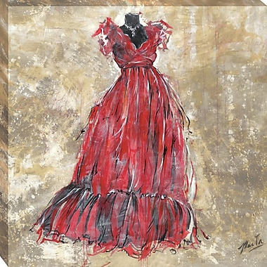 Tangletown Fine Art Gala II by Marta G. Wiley Framed Painting Print on Wrapped Canvas