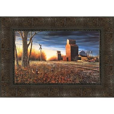 Tangletown Fine Art The Harvest Season Framed Painting Print