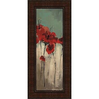 Tangletown Fine Art From Scarlett's Garden II by Luis Solis Framed Painting Print