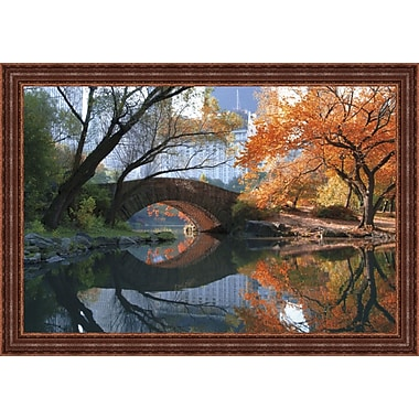 Tangletown Fine Art Gapstow Bridge by Michael Chen Framed Painting Print