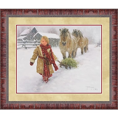 Tangletown Fine Art Hay for my Friends by Robert Duncan Framed Painting Print