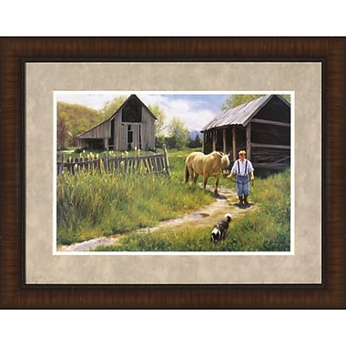 Tangletown Fine Art To Spring Pastures by Robert Duncan Framed Painting Print
