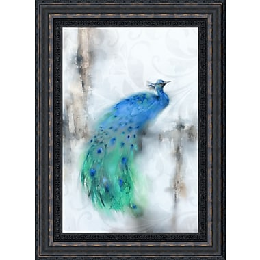 Tangletown Fine Art Jewel Plumes I by J.P. Prior Framed Painting Print