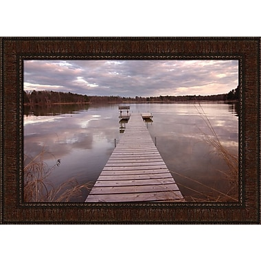 Tangletown Fine Art Lake Edna by Curt Kellett Framed Photographic Print