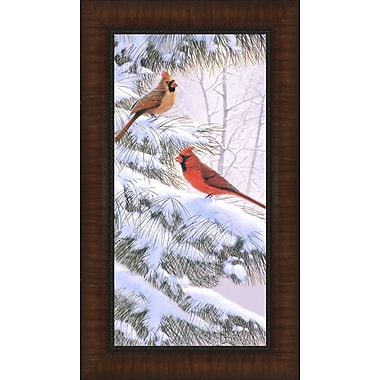 Tangletown Fine Art Winters Song by Derk Hansen Framed Graphic Art