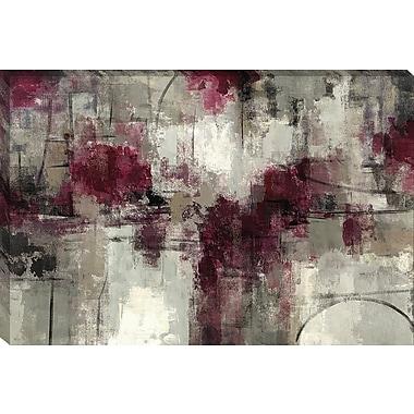 Tangletown Fine Art Stone Gardens by Silvia Vassileva Framed Painting Print on Wrapped Canvas