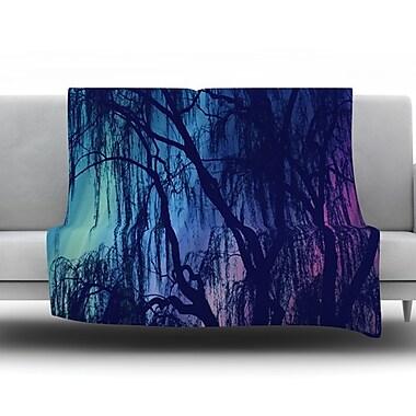 KESS InHouse Weeping by Robin Dickinson Fleece Throw Blanket; 80'' H x 60'' W x 1'' D