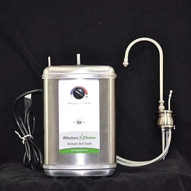 KitchenChoice Deck Mounted Premium Hot Water Dispenser; Polished Nickel