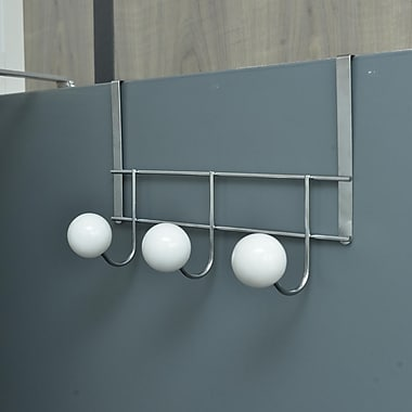 Evideco 13.38'' Over-the-Door Hook Rack