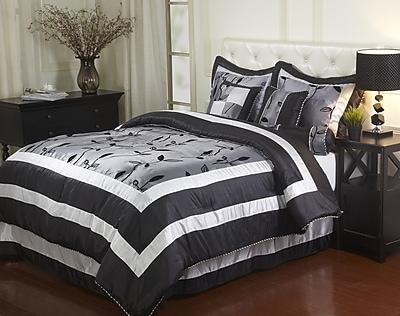 Nanshing America, Inc Pastora 7 Piece Comforter Set; King
