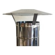 Authentic Pizza Ovens Chimney Pipe w/ Cap