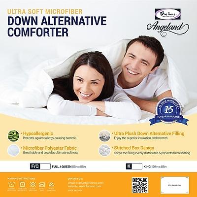 Furinno Angeland All Season Goose Down Alternative Comforter; King