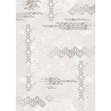 Luxury Home Cream Area Rug; Runner 3' x 8'