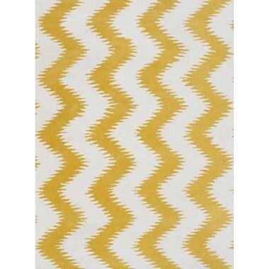 Luxury Home Cyprus Cream/Yellow Area Rug