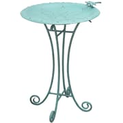 Innova Hearth and Home Floral Birdbath