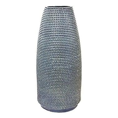 Sagebrook Home Ceramic Vase w/ Cutouts