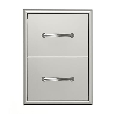 BroilChef Premium Double Drawer