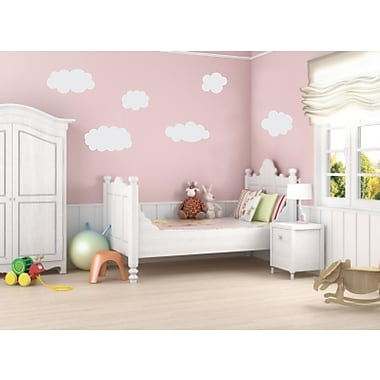 Enchantingly Elegant Clouds Wall Decal; Large