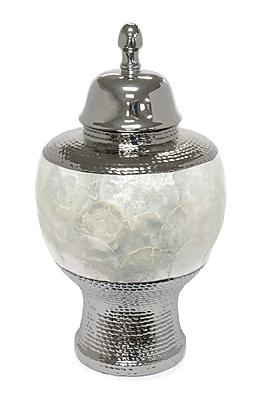 Sagebrook Home Ceramic Pearl Urn Vase