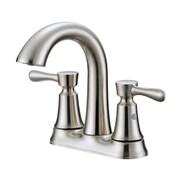 OakbrookCollection Standard Bathroom Faucet Double Handle; Bronze