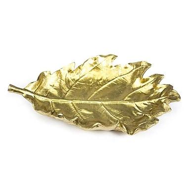 Sagebrook Home Leaf Plate
