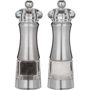 Trudeau Corporation 2 Piece Savoy Pepper and Salt Mill Set