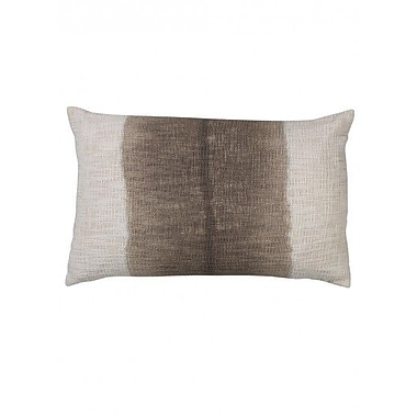 Jamie Young Company Marcus Cotton Lumbar Pillow; Gray/White