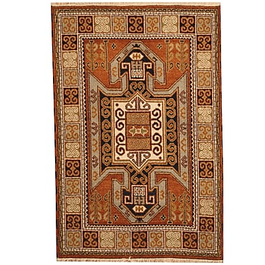 Herat Oriental Kazak Rust/Ivory Area Rug
