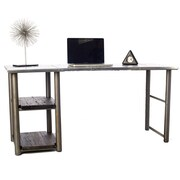 Urban 9-5 Writing Desk in Chrome