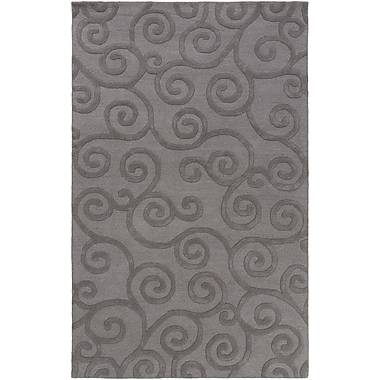 Artistic Weavers Poland Moore Hand-Tufted Gray Area Rug; 4' x 6'