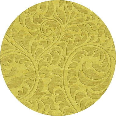 Dalyn Rug Co. Bella Yellow Area Rug; Round 8'
