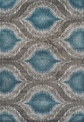 Dalyn Rug Co. Modern Greys Dalyn Teal Area Rug; 5'3'' X 7'7''