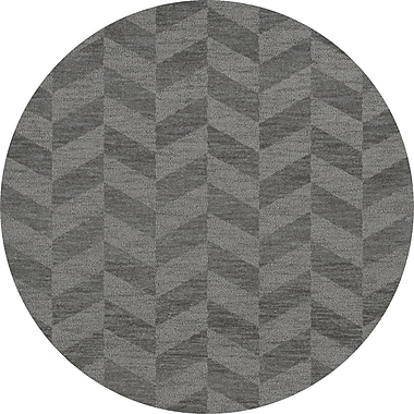 Dalyn Rug Co. Bella Gray Area Rug; Round 6'