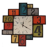 ByronAnthonyHome Hip To Be Square Wall Clock