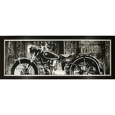 ByronAnthonyHome Open Highway Motorcycle Framed Photographic Print